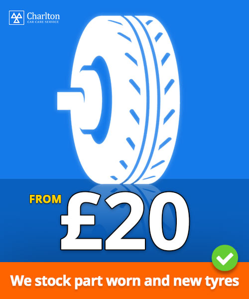 Tyres Special Offer £20